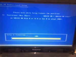 Install Lenovo G450 dengan Windows XP (2)