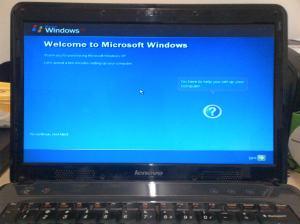Install Lenovo G450 dengan Windows XP (3)